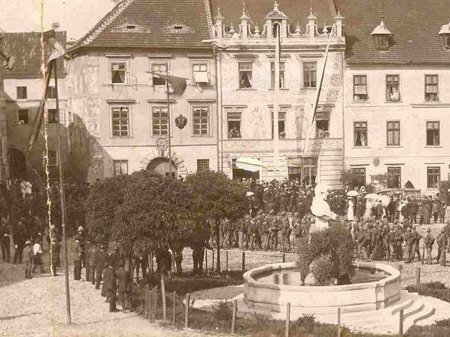 Národní dům v roce 1918.