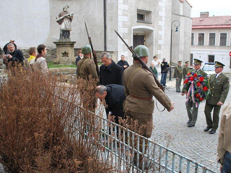 Den válečných veteránů ve Vimperku.