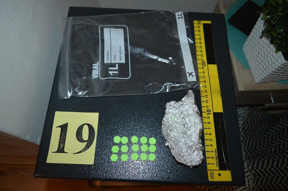 Policisté lapili vimperského drogového Satana.