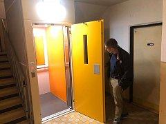 Nový výtah.