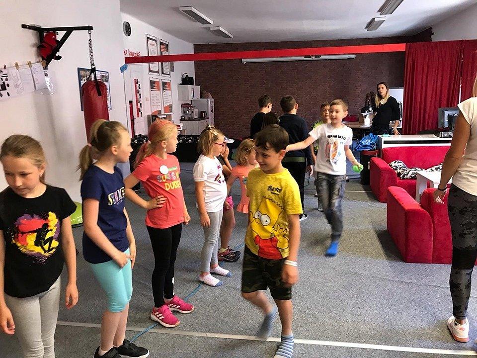 Příměstský tábor Challenge při Phénixu Prachatice.