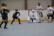 1. liga hokejbalu: HBC Prachatice - Suchdol nad Lužnicí 1:4.