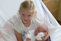 Nikola Šmajclová se v prachatické porodnici narodila v pátek 16. srpna v 09.45 hodin. Při narození vážila 3100 gramů. Rodiče Veronika a Václav jsou z Vodňan. První fotografování si nenechala ujít čtyřletá sestřička Terezka.