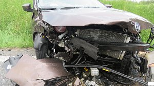 Nehoda u Libějovic