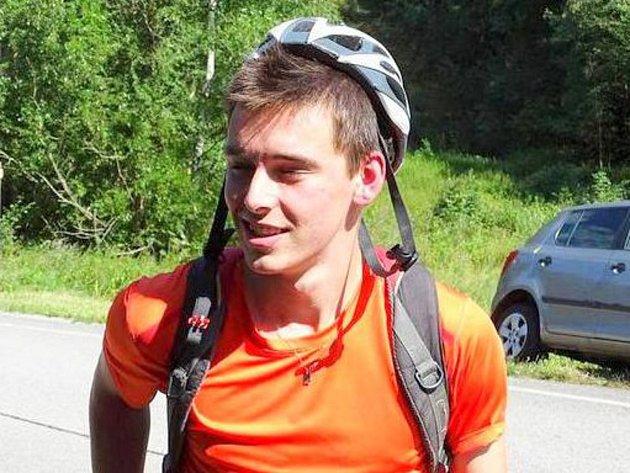 Jan Čech z Vimperka, který ve středu odpoledne přivolal záchranáře a poskytl první pomoc v té době ještě žijícímu řidiči z havarovaného osobního auta.