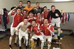 Radek Suchý a Petr Pasecký se stali Mistry Evropy v sálovém fotbale do 21 let.Foto: Archiv hráčů