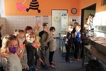 Testování prvňáčků a druháků v Základní škole v Tržní ulici v Netolicích.