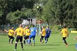 Fotbalový OP Prachaticka: Vlachovo Březí - Vacov B 2:2.