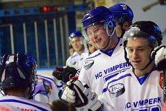 Vimperští hokejisté deklasovali Pelhřimov B 18:1.