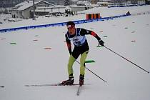Jacob Kordutch při mistrovství světa ve Val di Fiemme