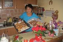Vánoční cukroví Marie Kovářové.