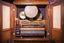 Orchestrion v Prácheňském muzeu.