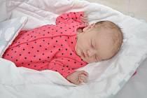SOFIE UHLÍKOVÁ, VIMPERK. Narodila se v pátek 20. března v 8 hodin a 55 minut ve strakonické porodnici. Vážila 3830 gramů. Rodiče: Michal a Lenka.