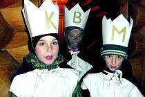 Tři králové vybrali v Borových Ladech pro svou africkou kamarádku skoro dvanáct tisíc korun.