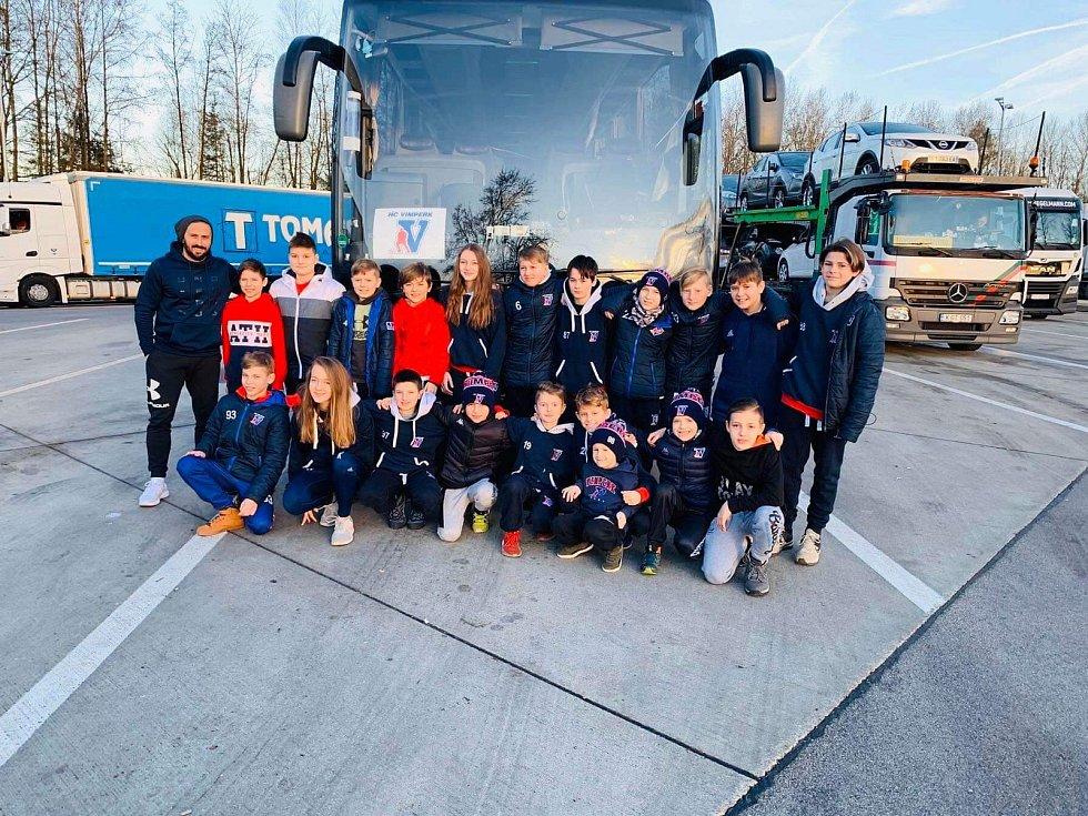 Vimperští sedmáci vyrazili s Davidem Vinšem do Salzburgu.