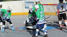 Hokejbalová extraliga juniorů: HBC Prachatice - HBC Plzeň 3:1