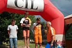 Závodníci ŠuTri v Hlincově Hoře.