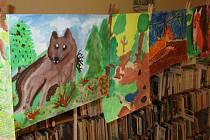 Městská knihovna Prachatice se zapojila do 7. ročníku výtvarné soutěže Lesy a příroda kolem nás.