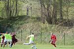Fotbalová i.B třída: Stachy - Dražejov 1:1.