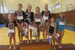Vimperským gymnastkám se v Nové Včelnici dařilo.