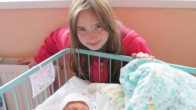 Hana Vachtová se narodila v prachatické porodnici v neděli 4. listopadu ve 23.08 hodin. Vážila 2410 gramů a měřila 45 centimetrů. Na malou Haničku a maminku Ludmilu se v Prachaticích těší tatínek Petr a sestřička Lucie.