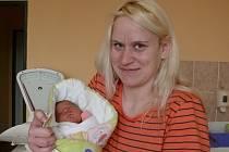 Kristýna Mikolášová se narodila v prachatické porodnici ve čtvrtek 10. prosince v 9.46 hodin rodičům Ivaně a Tomášovi. Vážila 3150 gramů. Doma v Prachaticích na malou Kristýnu čekal bráška Daniel (7 let).