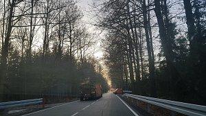 Silnice Němčice - Češnovice je opět průjezdná