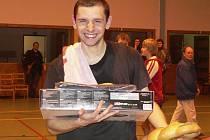 Petr Leština v Prachaticích vyhrál.