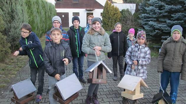Děti z kroužků DDM Prachatice.