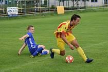 Fotbalová příprava: Čkyně - Junior Strakonice 3:3.