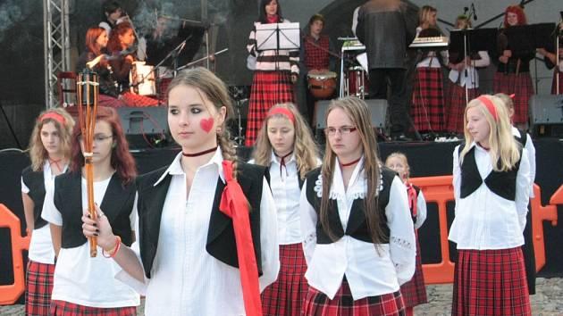 Podzimní slavnosti v Prachaticích. Ilustrační foto.