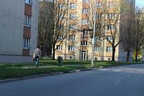 Prachatice, Slámova ulice. Ilustrační foto