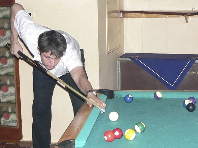 Josef Čunát patří vždy mezi spolufavority turnajů.