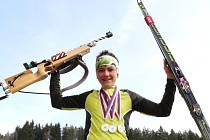 Ondra Mánek bral další medaile.