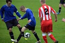 Fotbalový okres pokračoval dalšími zápasy.