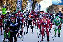 Šumavský skimaraton má zvuk i za hranicemi.