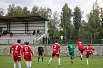 Fotbalový KP: Lažiště - Blatná 6:1.