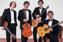 Ve Vimperku zahraje kytarové kvarteto