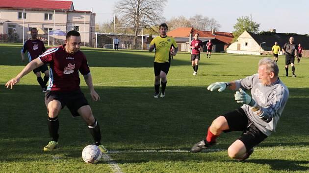 Fotbalový okres mužů pokračoval dalším kolem. Ilustrační foto.