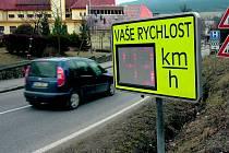 Radar na vjezdu do Prachatic.