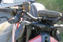 Dopravní nehoda motocyklisty v uzavřené části obce Těšovice na Prachaticku.