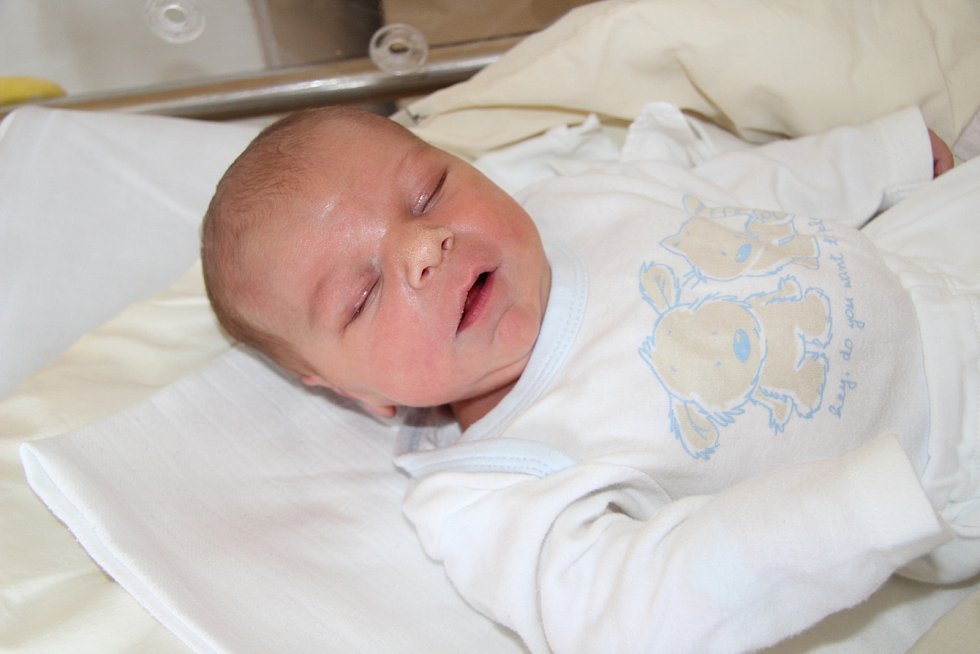 JINDŘICH ŽLUVA, VOLARY. Narodil se v úterý 25. února ve 12 hodin a 55 minutv prachatické porodnici. Vážil 3340 gramů. Rodiče: Klára Lengerová a Michal Žluva.