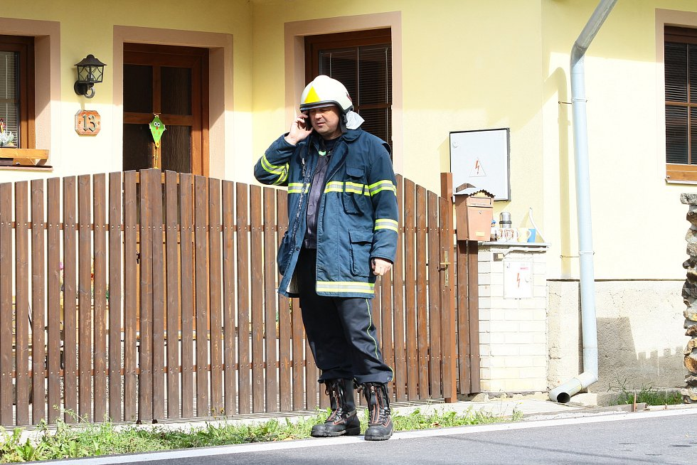 Výbuch v Lenoře zdemoloval obytný dům.