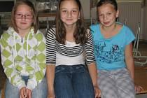 Na otázky o Dni dětí odpovídaly Eliška, Hana a Hanka. Všechny chodí do ZŠ v Netolicích.