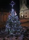 3. Vánoční strom ve Volarech.