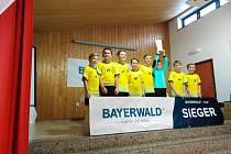 Přípravka Tatranu Prachatice vyhrála dobře obsazený turnaj v Německu.