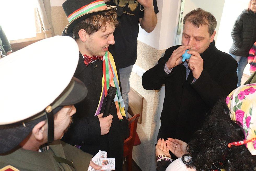 Masopust v obci Zbytiny.