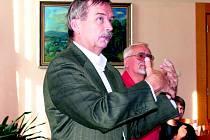Jiří Vlach a Petr Hošťále hovořili o svých představách, co s kulturákem v budoucnu.
