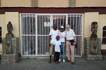 "Cesta za ""dětmi"" z Prachatic do Namibie."