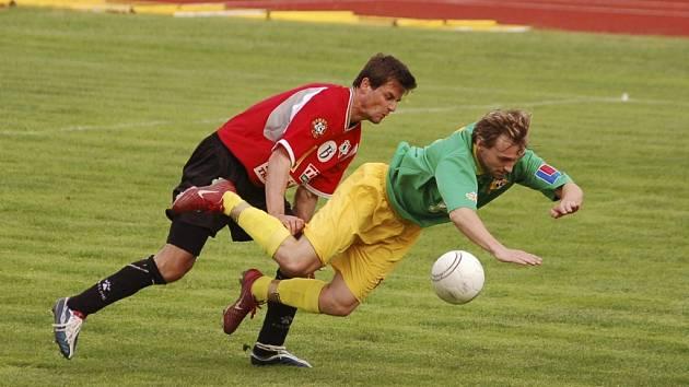 Ve středu se na volarském stadionu uskutečnil sedmý ročník mezinárodního fotbalového turnaje. Ilustrační foto.